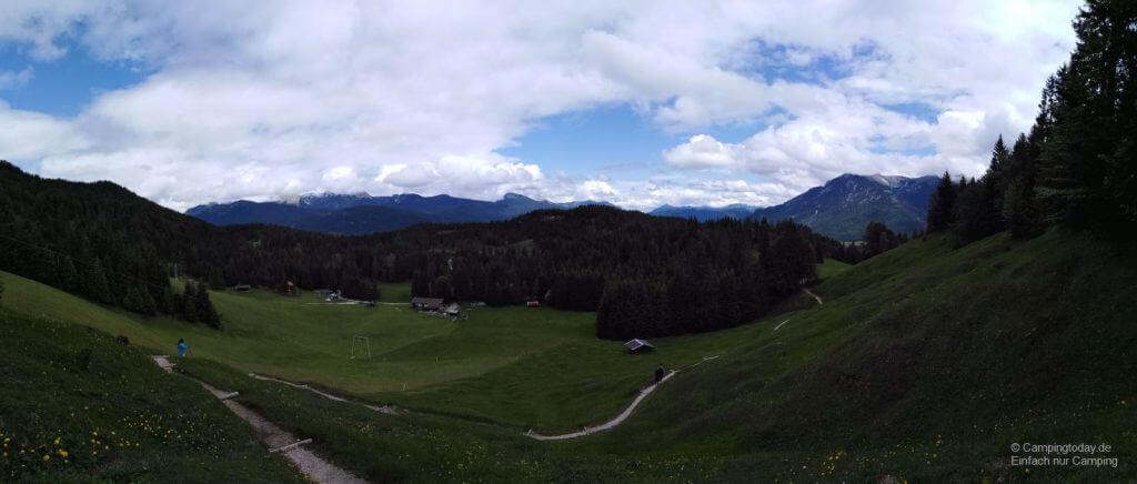 Blick vom Kranzberg