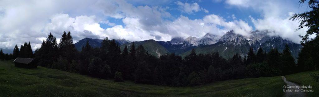 Das Karwendel-Gebirge