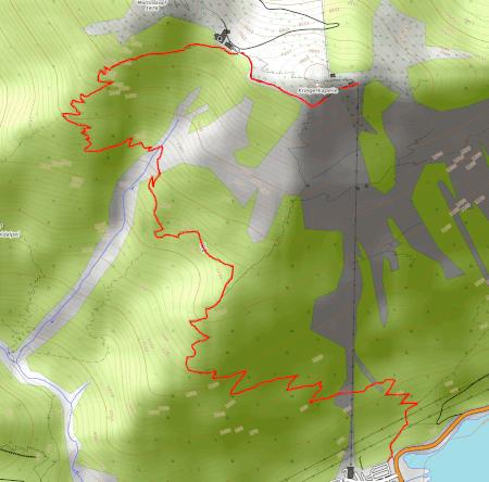 Wanderroute vom Herzogstand zur Talstation Walchensee